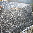 Granit black mosaique
